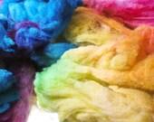 Haughty Melodic - Targhee Fleece Hand Dyed Spinning Felting Fiber