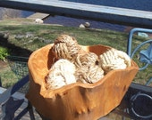 Nautical Knot Bowl Fillers - 6 knots in manila and sisal rope - Nautical Home Decor