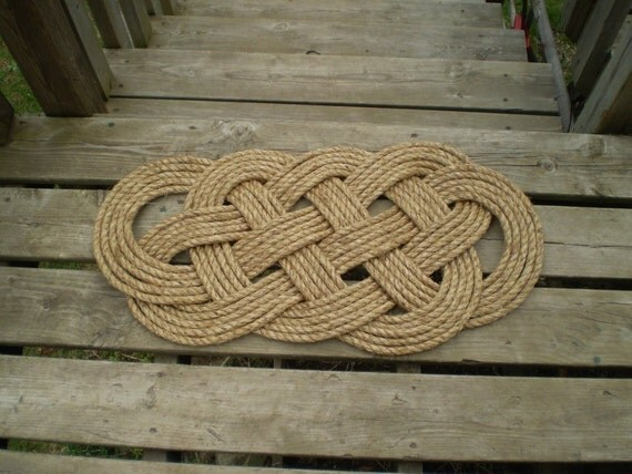 Tutorial for nautical doormat pdf- I will send you the pdf instructions