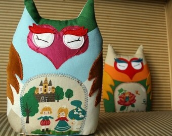 Woodland Owl by Agnes - Custom made to Order