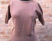 40s Pringle of Scotland Cashmere Cropped Sweater