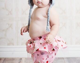 Girls Skirt Pattern PDF sewing pattern..Skorts...baby, girls, easy, 0m-5T