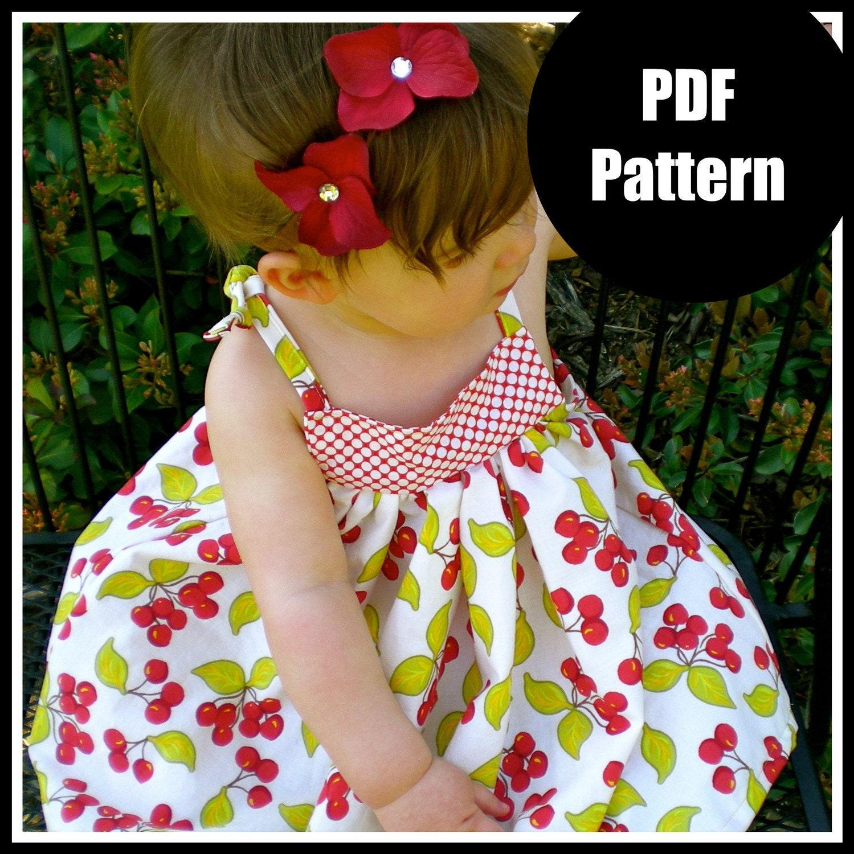 Baby Girl Dress Cutting Pattern Girls Dress Pattern Baby