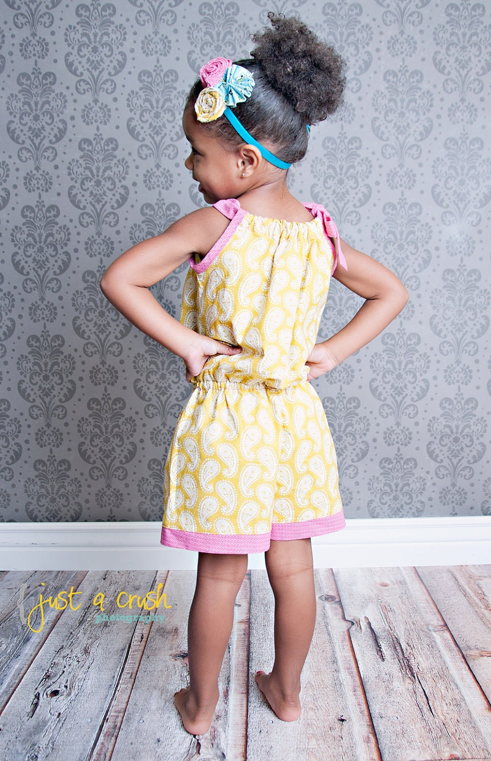 Pillowcase Romper Pattern Girls Romper Sewing Pattern Easy