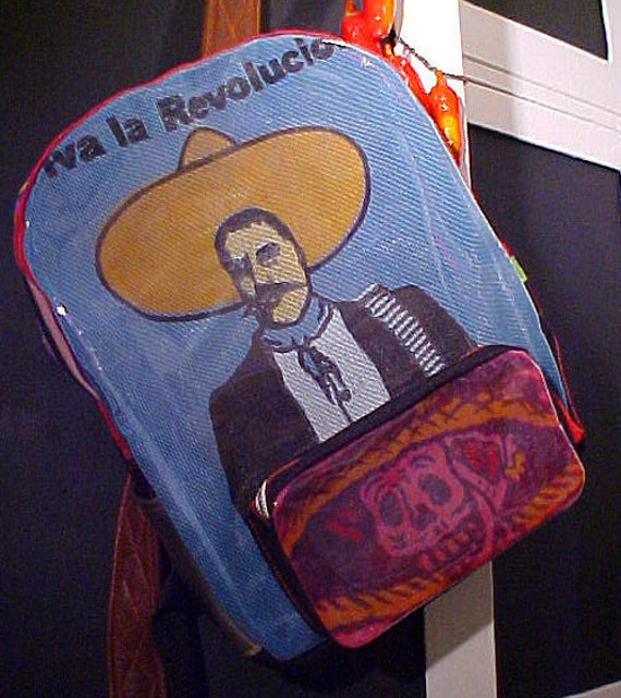 Thingsbuilt Mexican Revolution  Emiliano Zapata Backpack