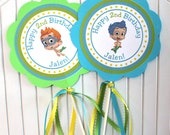 Bubble Guppies Birthday Party - Centerpieces - Set of 2