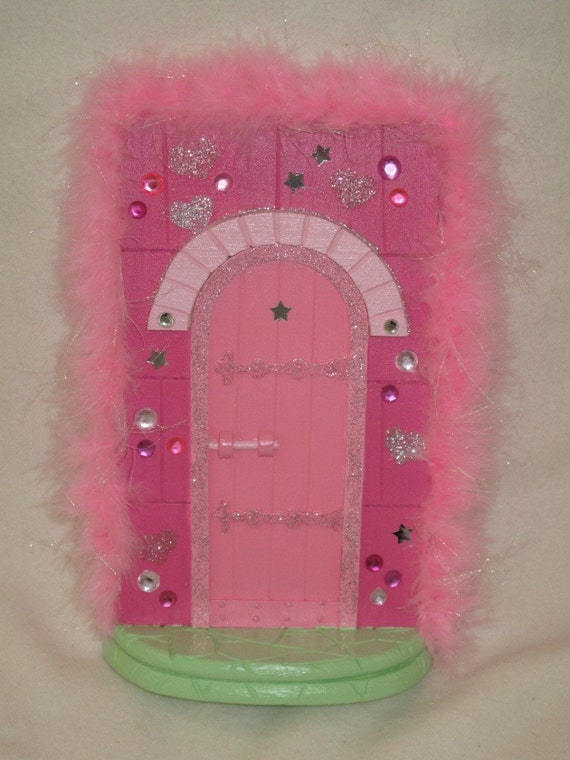 Pink fairy door for Pink fairy door