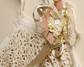 The Carry On Bag in Organic Cotton, Wedding Pretty