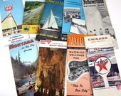 Collection of 60s Highway and Tourist Maps