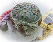 PP11 Trellis of Roses and Wisteria pincushion Kit