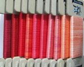 Fiery Fiesta Collection- 4mm Silk Ribbon