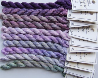 Lavender and Lilac collection - Perle No. 8