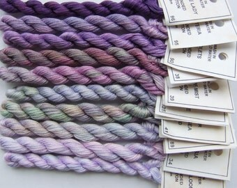 Lavender and Lilac collection - Stranded Cotton