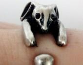 Bunny hug ring