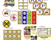Party Train DIY Party Pack