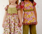 Chelsea Andersen Designs Dress, Capri, Top and Kerchief  Size 3-4-5-6