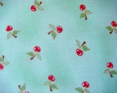 "RESERVED for Renee - Makower ""Party Time Cherries"" Cotton Fabric"