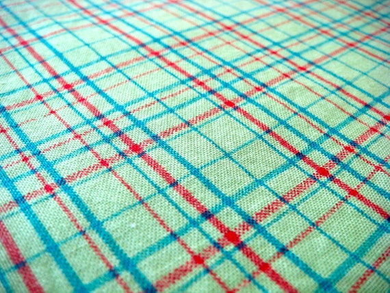 Pretty Plaid for Michael Miller Cotton Quilting Fabric