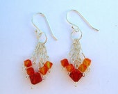 AcireG - Sparkly Sterling and Crystal Earrings