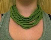 AcireG - Be Green Recycled T-shirt Necklace