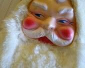 RESERVED for ELISSA until December  5th  2011  ////Vintage  Stuffed Plush Santa Doll Antique