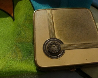 Vintage Chicago Antique Compact University of Illinois Chartered 1867