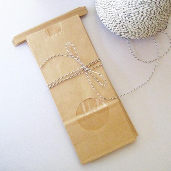 Kraft Paper Treat Bags  - Set of 10