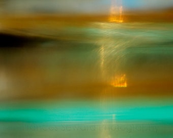 Spring Evening on Neptune. Fine Art Photograph. Giclee. Abstract.