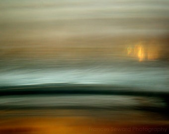 Mongolian.  Fine Art Photograph.  Abstrace Landscape Photo. Giclee