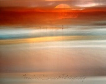 Celestial Sunset. Fine Art Photograph