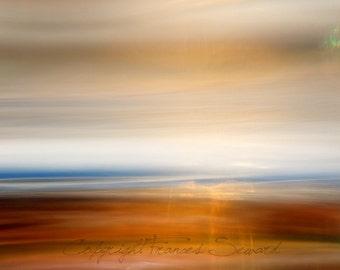 Evening Seascape.  Fine Art Photo. Giclee