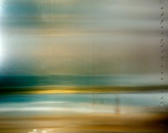 Turquoise and Gold. Fine Art Photo.Original Print. Giclee