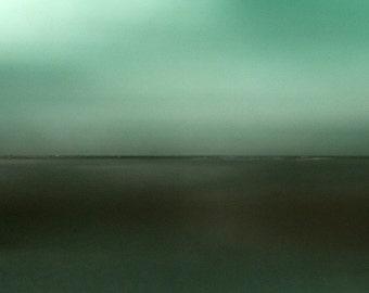 Flat Plains - Original Fine Art Photograph. Abstract Landscape. Giclee