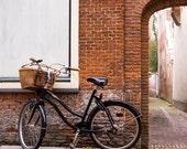 Dutch Bike 2 - Fine Art Photo on 5x5 Bamboo Panel