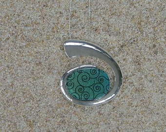 Large Spiral Necklace