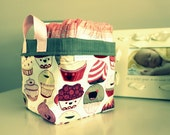 Oh Sew Sweet Fabric Basket - Organizer Bin