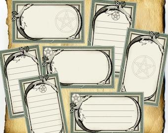 Oroborus Magic Label and Tag Set - Digital Download