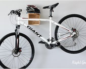 The Balancer Bike Shelf in Natural Maple - Bicycle Rack Storage Mount