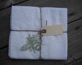 Handprinted Kitchen Towels