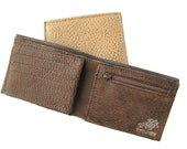 Men's Leather Wallet - a Small Sized Wallet for Men - in COCOA BROWN (No. 784)