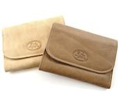 Women's Leather Wallet, Bifold Leather Wallet, Women's Handmade Leather Wallet, Gift For Her, Genuine Leather Wallet - HAZEL BROWN (No.894A)