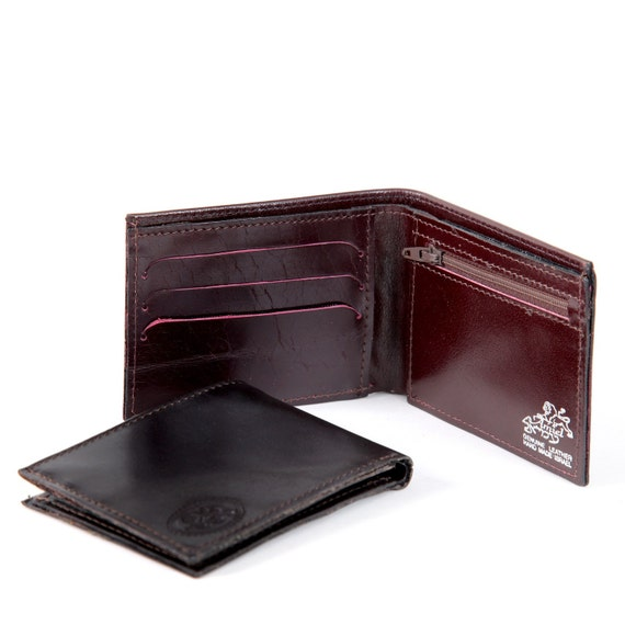 BORDEAUX - a small sized wallet for men (No. 324)