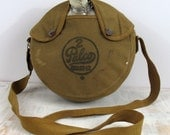 Vintage 2 Quart Palco Canteen Army Green