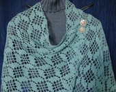 Scarborough Fair Shawl crochet pattern pdf