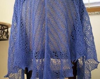 Lace Venezia  Shawl  knitting  pattern pdf