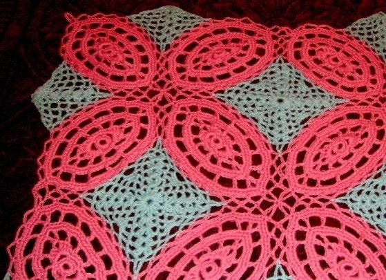 Double Wedding Ring Afghan Crochet Pattern Pdf