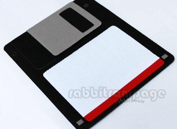Diskette Felt iPad case