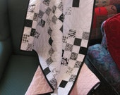 Black and White Baby Quilt