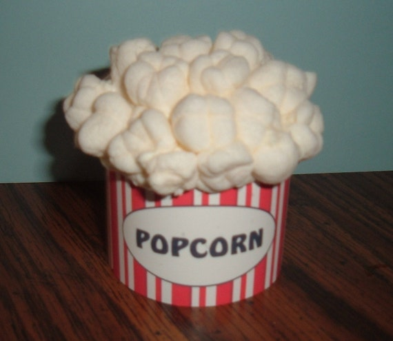 Popcorn cupcake wraparound wrappers set of 12