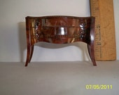 Free Shipping / Miniature Hope Chest / Drawer opens